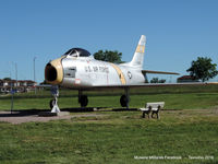 53-1302 - North American F-86H Sabre - by Tavoohio