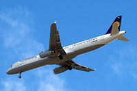 D-AISB @ EGLL - Airbus A321-231 [1080] (Lufthansa) Home~G 03/06/2015. On approach 27R. - by Ray Barber