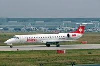 HB-JAV @ EDDF - Embraer ERJ-145LU [145574] (Swiss International Air Lines) Frankfurt~D 10/09/2005