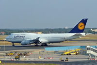 D-ABVW @ EDDF - Boeing 747-430 [29493] (Lufthansa) Frankfurt~D 08/09/2005 - by Ray Barber