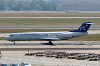 YU-AOT @ EDDF - Fokker F-100 [11350] (Montenegro Airlines) Frankfurt~D 08/09/2005