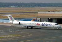 9A-CBJ @ EDDF - McDonnell Douglas DC-9-83 [49449] (Air Adriatic) Frankfurt~D 09/09/2005 - by Ray Barber