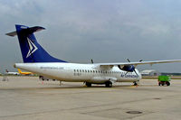 EI-SLF @ EDDF - Aerospatiale ATR-72-201F [210] (Air Contractors) Frankfurt~D 09/09/2005