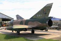 BA53 @ LFLQ - Dassault Mirage 5BA, Musée Européen de l'Aviation de Chasse at Montélimar - by Yves-Q