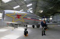 214 @ LFLQ - Dassault MD-450 Ouragan, Musée Européen de l'Aviation de Chasse at Montélimar-Ancône airfield (LFLQ) - by Yves-Q