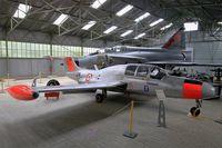 116 @ LFLQ - Morane-Saulnier MS.760 Paris, Musée Européen de l'Aviation de Chasse at Montélimar-Ancône airfield (LFLQ) - by Yves-Q