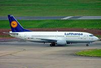 D-ABED @ EGBB - Boeing 737-330 [25215] (Lufthansa) Birmingham Int'l~G 02/08/2005 - by Ray Barber