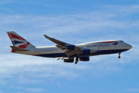 G-BYGD @ EGLL - Boeing 747-436 [28857] (British Airways) Home~G 13/05/2015. On approach 27L.