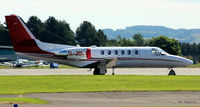 G-JBLZ @ EGPN - On the apron at Dundee Riverside EGPN - by Clive Pattle