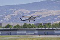 N152GB @ LVK - N152GB departing runway 25R at Livermore Airport. 2016. - by Clayton Eddy