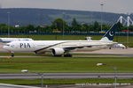 AP-BID @ EGBB - PIA Pakistan International Airlines - by Chris Hall