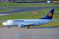 D-ABIR @ EGBB - Boeing 737-530 [24941] (Lufthansa) Birmingham Int'l~G 23/01/2007 - by Ray Barber
