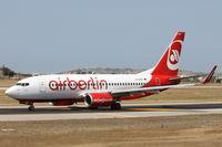 D-AHXF @ LMML - B737-700 D-AHXF Air Berlin - by Raymond Zammit
