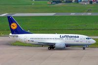 D-ABJI @ EGBB - Boeing 737-530 [25358] (Lufthansa) Birmingham Int'l~G 26/10/2004 - by Ray Barber