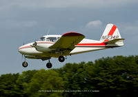 N1234P @ MD1 - Near touch down. - by J.G. Handelman