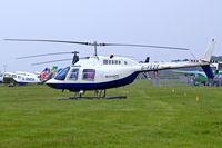 G-FEZZ @ EGTB - Agusta-Bell AB.206B Jet Ranger II [8317] (Helicopter Services) Booker~G 09/06/2007