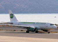 D-ASTC @ LPA - Taxi to the runway of Las Palmas Airport - by Willem Göebel