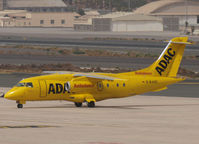 D-BADC @ GCLP - Taxi to the runway of Las Palmas Airport - by Willem Göebel