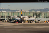 D-ABVW @ CYVR - Parked at International terminal - by Remi Farvacque