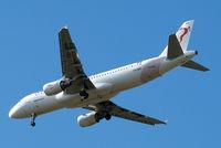 TS-IMV @ EGLL - Airbus A320-214 [5610] (Tunisair) Home~G 29/05/2015. On approach 27R.