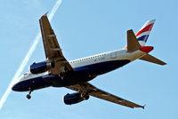 G-EUPY @ EGLL - Airbus A319-131 [1466] (British Airways) Home~G 16/05/2015. On approach 27R.