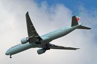 C-FIVX @ EGLL - Boeing 777-333ER [42219] (Air Canada) Home~G 25/03/2015. On approach 27R. - by Ray Barber