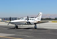 N116JJ @ KSJC - Very nice locally-based 1984 Cessna 421C parked at its tie down at San Jose International Airport, CA. - by Chris Leipelt