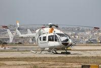 M-ALFA @ LMML - Eurocopter BK-117C-2 M-ALFA - by Raymond Zammit