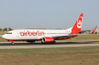 D-ABMQ @ LMML - B737-800 D-ABMQ Air Berlin - by Raymond Zammit