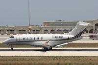 CS-CHB @ LMML - Bombardier BD-100 1A10 Challenger350 CS-CHB Netjets - by Raymond Zammit