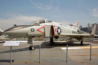 150628 - On display aboard USS Intrepid. VMFA-323's Phantoms were embarked on USS Coral Sea only. - by Arjun Sarup