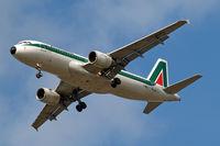 I-BIKL @ EGLL - Airbus A320-214 [1489] (Alitalia) Home~G 24/08/2009. On approach 27R.