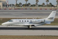 7T-VNC @ LMML - Cessna560 Citation Excel 7T-VNC Star Aviation - by Raymond Zammit