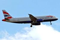 G-EUUH @ EGLL - Airbus A320-232 [1665] (British Airways) Home~G 09/05/2015. On approach 27L.