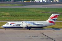 G-BZAX @ EGBB - BAe 146-RJ100 [E3356] (British Airways/CitiExpress) Birmingham Int'l~G 26/10/2004 - by Ray Barber