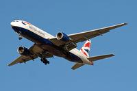 G-YMMJ @ EGLL - Boeing 777-236ER [30311] (British Airways) Home~G 26/09/2009. On approach 27R.
