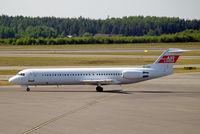 SE-DUV @ ESSA - Fokker F-100 [11291] (Air Express) Stockholm-Arlanda~SE 06/06/2008