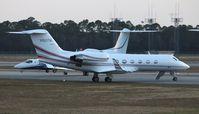 N160TM @ DAB - Gulfstream IV