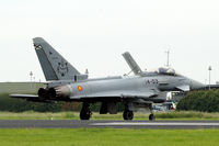 C16-36 @ EHLW - Eurofighter Typhoon of the Spanish Air Force at the 2016 open days at Leeuwarden Air Base, the Netherlands - by Van Propeller