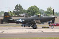 N163FS @ YIP - Bell P-63