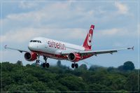 D-ABNU @ EDDR - Airbus A320-214 - by Jerzy Maciaszek