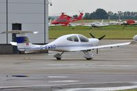 D-EWAQ @ EGSH - Nice Visitor. - by keithnewsome