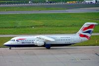 G-CFAB @ EGBB - BAe 146-RJ100 [E3377] (British Airways/CitiExpress) Birmingham Int'l~G 26/10/2004 - by Ray Barber