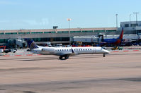 N14148 @ KDEN - Taxi Denver - by Ronald Barker