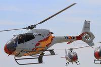 HE25-12 @ LFMI - Spanish ASPA Team Eurocopter EC-120B Colibri, On display, Istres-Le Tubé Air Base 125 (LFMI-QIE) open day 2016 - by Yves-Q