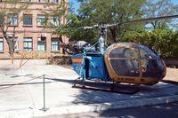 EC-CLV @ LECU - Aerospatiale SA.318C Alouette Astazou [2373]  Madrid-Cuatro Vientos~EC 10/07/2011