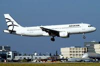 YL-LCI @ LFBO - Airbus A320-214 [0724] (Aegean Airlines) Toulouse-Blagnac~F 14/07/2011