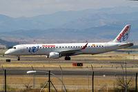 EC-KYP @ LEMD - Embraer Emb-195-200LR [19000281] (Air Europa) Madrid-Barajas~EC 09/07/2011