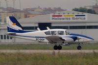 EC-GGF @ LELL - Piper PA-23-250 Aztec E [27-4810] Barcelona-Sabadell~EC 12/07/2011 - by Ray Barber