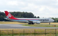 LX-VCE @ ELLX - CARGOLUX main hub is Luxembourg Findel Airport with full maintenance facilities for B747s - by Jean M Braun